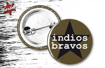 kapsel INDIOS BRAVOS - MENTAL REVOLUTION - LOGO DUŻE czarna