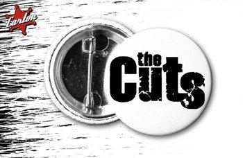 kapsel THE CUTS - LOGO biało-czarny