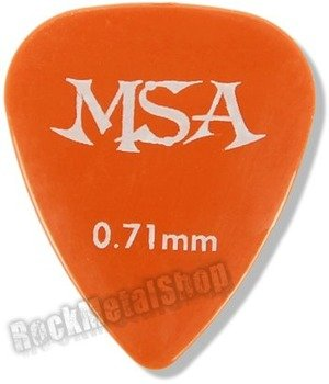 kostka gitarowa MSA ORANGE
