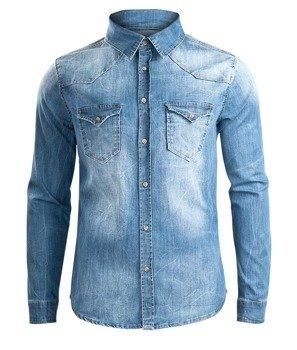 koszula RILEY DENIMSHIRT jeansowa