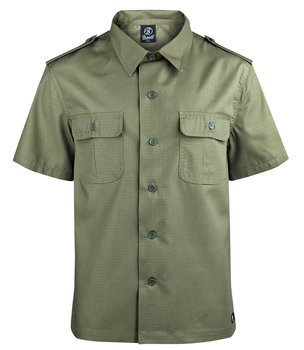 koszula US SHIRT RIPSTOP - OLIVE