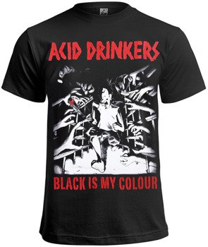 koszulka ACID DRINKERS - BLACK IS MY COLOUR