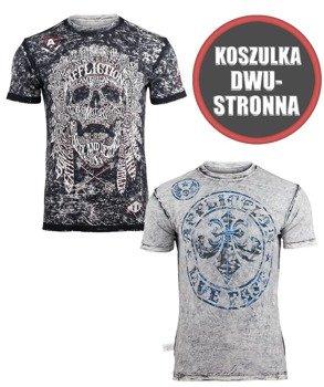 koszulka AFFLICTION - NATIVE TONGUE, dwustronna