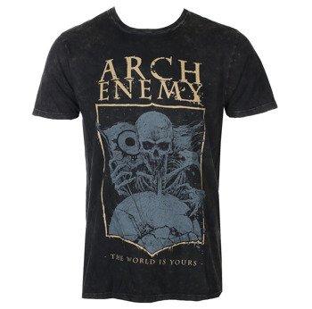 koszulka ARCH ENEMY - THE WORLD IS YOU ACID WASHED