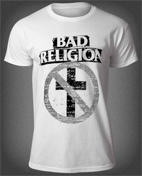 koszulka BAD RELIGION - TYPEWRITER CROSSBUSTER