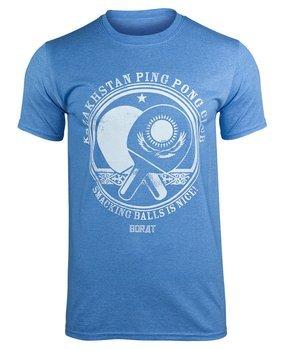 koszulka BORAT - KAZAKHSTAN PING PONG CLUB błękitna