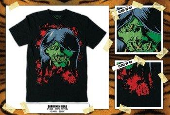 koszulka IRON FIST '09 (Shrunken Head) (Black)