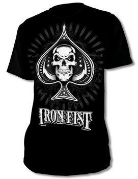 koszulka IRON FIST - NEW DEALER LOGO (BLACK)