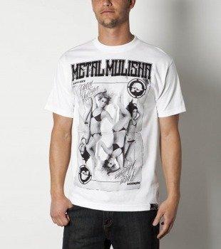 koszulka METAL MULISHA - HOLD 'EM biała