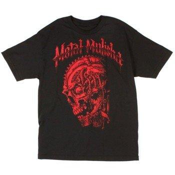 koszulka METAL MULISHA - RED SCRAPPED czarna
