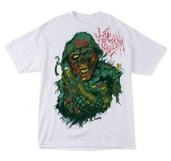 koszulka METAL MULISHA - WALKING DEAD biała
