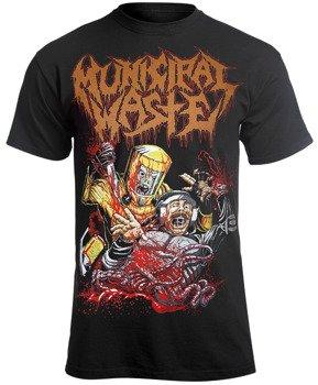 koszulka MUNICIPAL WASTE - OCCUPY WASTE STREET
