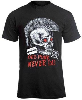koszulka OLD PUNK NEVER DIE
