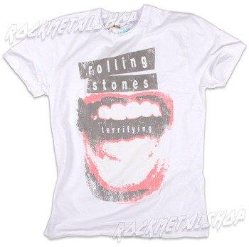 koszulka ROLLING STONES - TERRIFYING biała