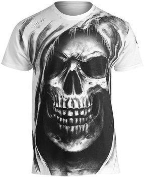koszulka SKULL, biała