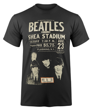 koszulka THE BEATLES - SHEA '66 ekologiczna