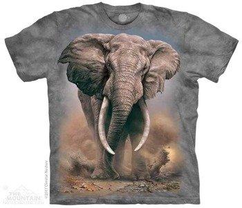 koszulka THE MOUNTAIN - AFRICAN ELEPHANT, barwiona