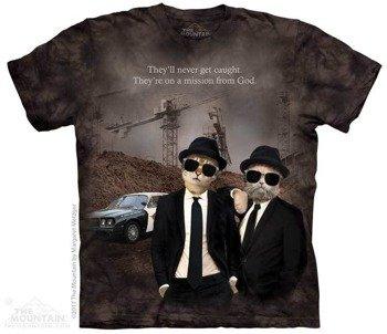 koszulka THE MOUNTAIN - CAT BROTHERS, barwiona