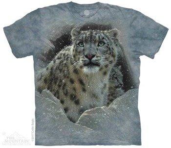 koszulka THE MOUNTAIN - FORTRESS LEOPARD, barwiona