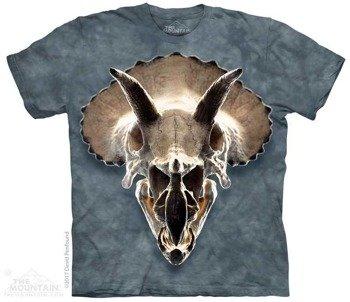 koszulka THE MOUNTAIN - TRICERATOPS SKULL, barwiona