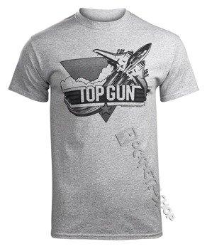 koszulka TOP GUN -  BLACK