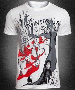 koszulka WINTER IS COMING, biała