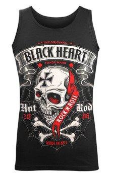koszulka na ramiączkach BLACK HEART - CRUSTY DEMONS BLACK