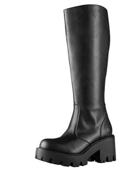 kozaczki damskie ALTERCORE czarne (LUNA VEGAN BLACK)