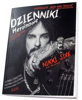 książka DZIENNIKI HEROINOWE autor: Nikki Sixx