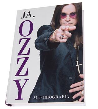książka JA, OZZY. AUTOBIOGRAFIA