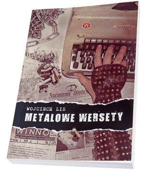 książka METALOWE WERSETY Wojciech Lis