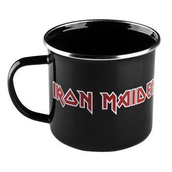 kubek IRON MAIDEN - LOGO metalowy