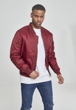 kurtka flyers BASIC BOMBER burgundy