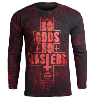 longsleeve AMENOMEN - NO GODS NO MASTERS (OMEN080LO ALLPRINT RED)