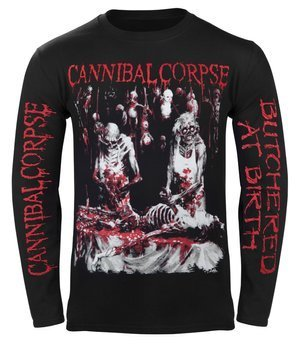 longsleeve CANNIBAL CORPSE - BUTCHERED AT BIRTH (EXPLICIT)