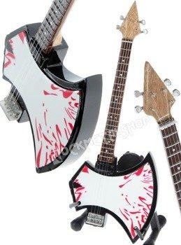 miniaturka gitary KISS - GENE SIMMONS: AXE BLOOD BASS