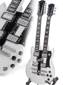 miniaturka gitary RUSH - ALEX LIFESON: DOUBLENECK GIBSON