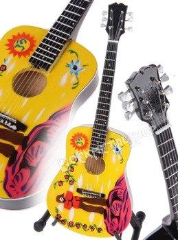 miniaturka gitary THE BEATLES - JOHN LENNON: GIBSON YELLOW SUBMARINE