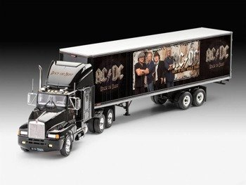 model do sklejania AC/DC - TRUCK AND TRAILER