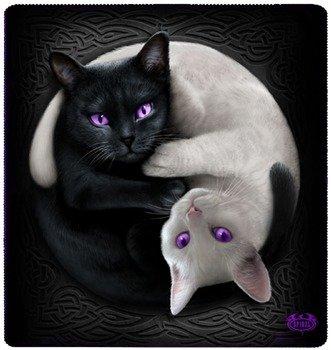 narzuta/koc YIN YANG CATS
