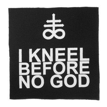 naszywka AMENOMEN - I KNEEL BEFORE NO GOD (OMEN133NASZ)