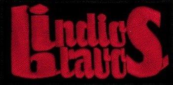 naszywka INDIOS BRAVOS - czerowne logo