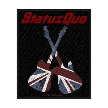 naszywka STATUS QUO - GUITARS