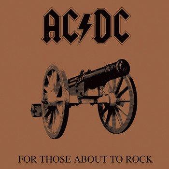 obraz na płótnie AC/DC - FOR THOSE ABOUT TO ROCK
