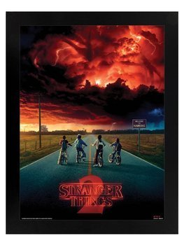obraz w ramie 3D STRANGER THINGS - MIND FLAYER