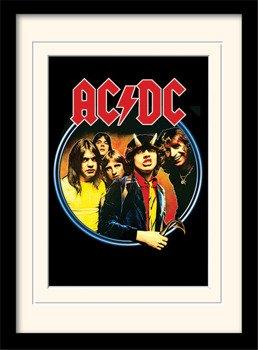 obraz w ramie AC/DC - GROUP