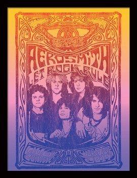 obraz w ramie AEROSMITH - LET ROCK RULE