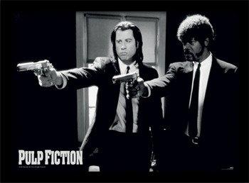 obraz w ramie PULP FICTION - GUNS