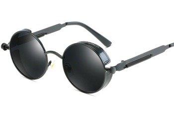 okulary LENONKI STEAMPUNK RETRO RAY BLACK