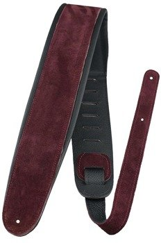 pas do gitary PERRI'S DELUXE SMOTH SUEDE BURGUNDY 80 mm